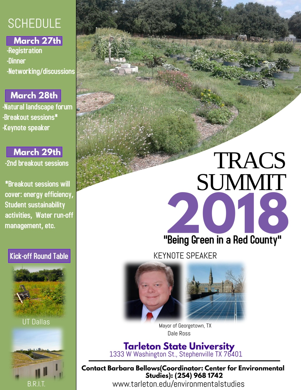 TRACS conference flyer